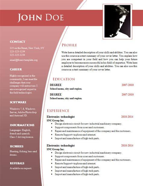 cv template word hrvatski cv templates for word doc 632 638 free cv template