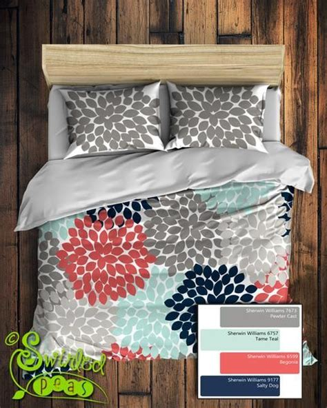 navy blue and coral bedroom 25 best ideas about navy and coral bedding on pinterest
