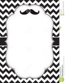 mustache card stock vector image 42167853