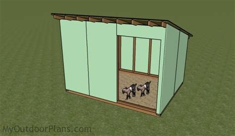 Goat Shed Plans Free by Goat Shelter Plans Free Outdoor Plans Diy Shed Wooden