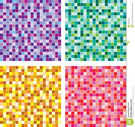 seamless mosaic pattern vector vector seamless of mosaic pattern stock photos image