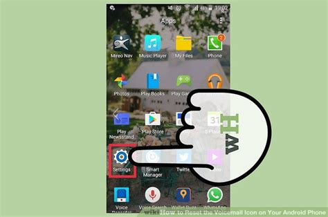 reset frozen android phone how to reset the voicemail icon on your android phone 14