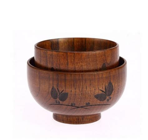 Wooden Bowls Handmade - jujube wooden bowls handmade for andult and child