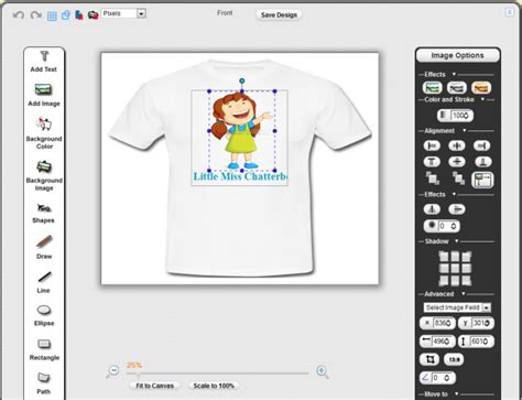 how to make a layout design for tshirt sell custom t shirts pixopa enterprise web to print