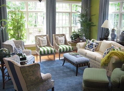 blue and green living rooms 25 green living rooms and ideas to match