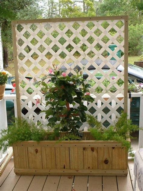 enrejado easy trellis planter box diy easy video instructions