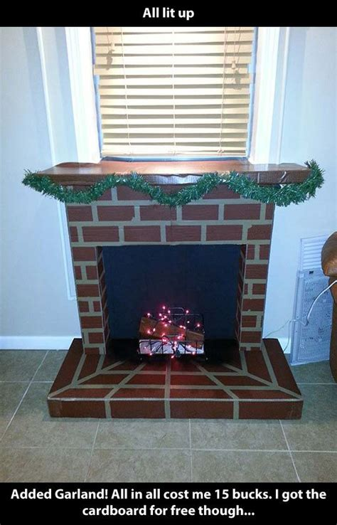 Home Made Fireplace by 25 Unique Cardboard Fireplace Ideas On
