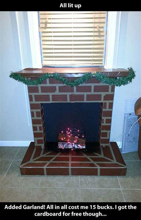 Handmade Fireplaces - best 25 cardboard fireplace ideas on