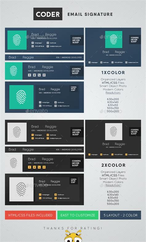25 Best Ideas About Email Signatures On Pinterest Signature For Email Professional Signature Psd Email Signature Template