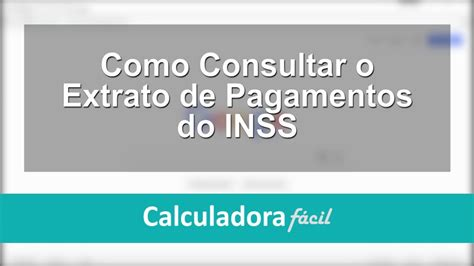 site do inss inssgovbr extrato inss como imprimir extrato do inss youtube