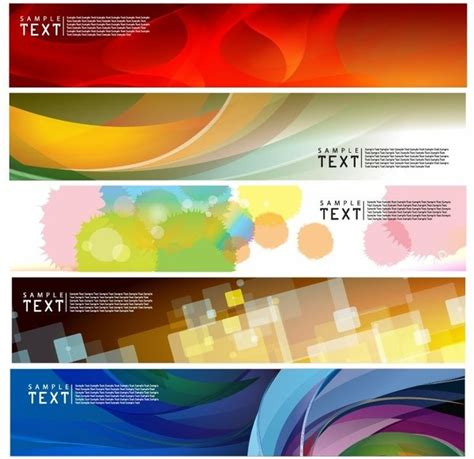 coreldraw banner design download vector horizontal banner free vector in encapsulated