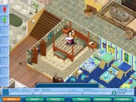 house layout for virtual families 2 virtual families 2 youtube