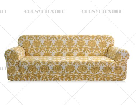 printed slipcovers 3 seat printed sofa cover spandex fabric couch set cover