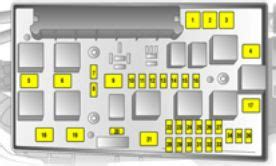 Opel Astra Fuse Box Layout Vauxhall Zafira B Fuse Box Diagram Get Free Image About