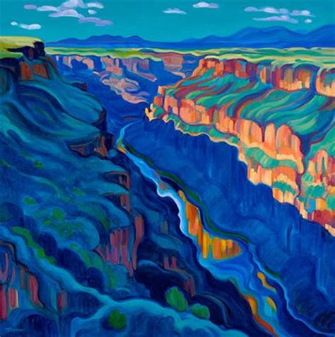 glow in the paint mexico the grande northern new mexico tracy turner