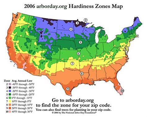 planting zone map hardiness zone map