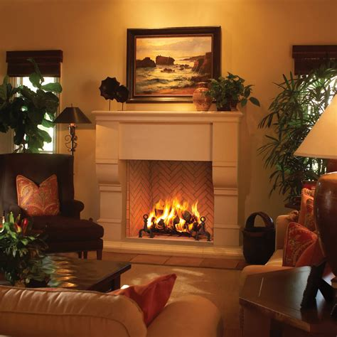 Gas Fireplace Clearance by Zero Clearance Gas Fireplace Burn Farmhouses