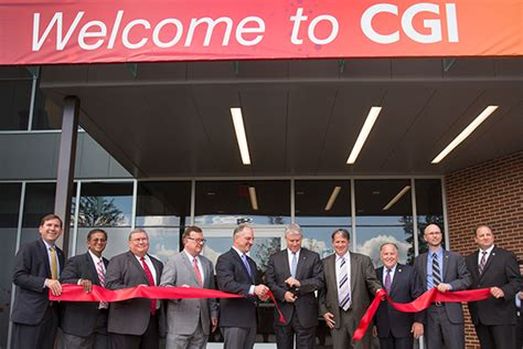 Of Louisiana Lafayette Mba by Governor Cgi President Dedicate Facility In