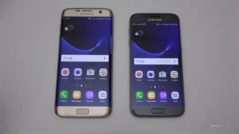 samsung galaxy s7 s7 edge unboxing setup look