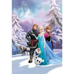 frozen wall mural pink and black polka dot border free wallpaper