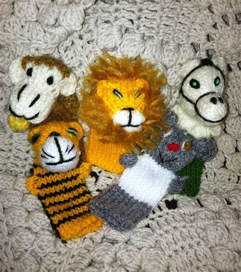 free knitting patterns finger puppets knitted finger puppets knitting fingerpuppets