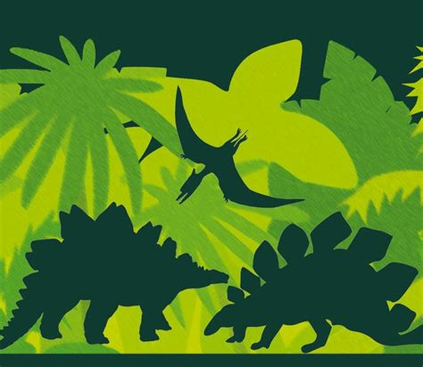 bordure kinderzimmer dinosaurier bord 252 re kinderzimmer dinosaurier bibkunstschuur