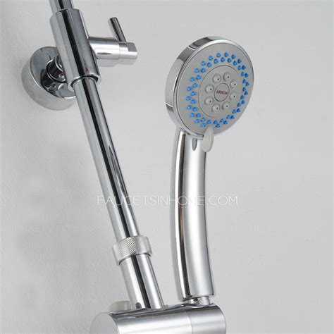 Shower Heads And Faucets by Quality Brass Elevating Exposed Shower Heads And Faucets
