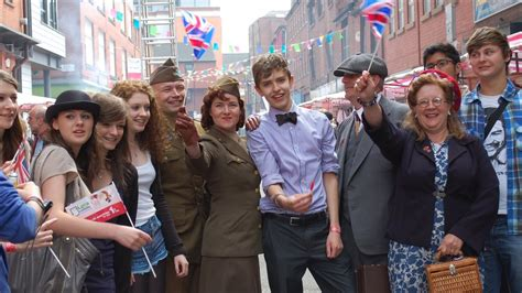 1940s themed events london bbc news manchester marks royal wedding with street parties