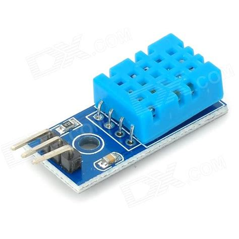 Sensor Kelembaban Dht11 Modul temperature humidity sensor dht11 module for arduino blue works with official arduino