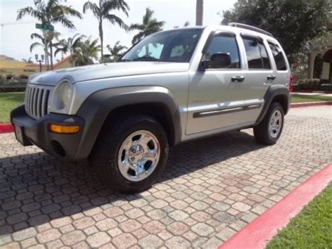 2003 Jeep Liberty Owners Manual Find Used 2003 Jeep Liberty Sport 4 Cylinder Manual 5