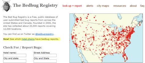bed bug registry nyc bedbug registry a directory of places not to stay