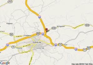 Comfort Inn Hampton Va Map Of Super 8 Motel Wytheville Wytheville