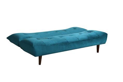 futon velvet aqua velvet futon 500098 at gardner white