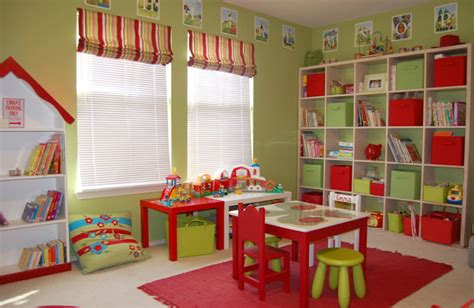 Playroom Decor by Home Sweet Home Bright Cheerful Playroom