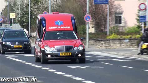 Lu Ambulance luxembourg ville rescue911 eu rescue911 de