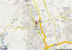 Cedar Park Map Of Comfort Inn Cedar Park Cedar Park
