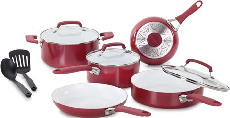 today only wearever pure living nonstick ceramic cookware sets as low as 54 99 shipped
