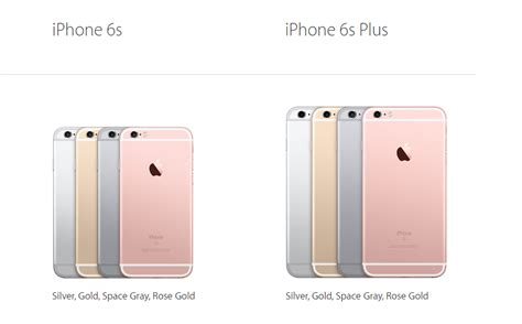 iphone 6s vs iphone 6s plus specifications and photos mobilitaria