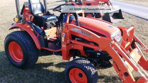 2009 Kioti Ck20s Compact Tractor W Kl120 Loader One