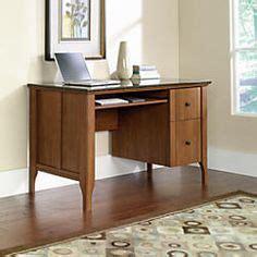 sauder samber desk granite jamocha wood office depot 199 sauder 174 samber desk 29 1 2 quot h x 53 1 8 quot w