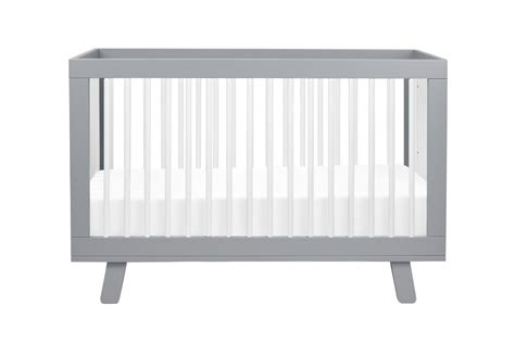 Best Mattress For Babyletto Hudson Crib by Babyletto Hudson 3 In 1 Convertible Crib Grey And White