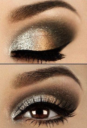 Eyeshadow For Dress eye makeup for black and gold dress eye makeup