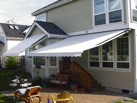 lateral arm awning retractable awnings waagmeester canvas products