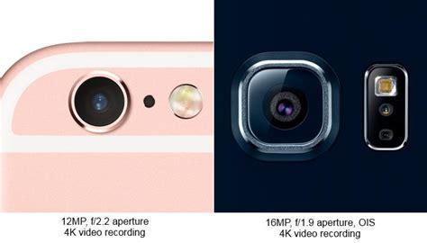 showdown apple iphone 6s versus samsung galaxy s6 edge pc world australia