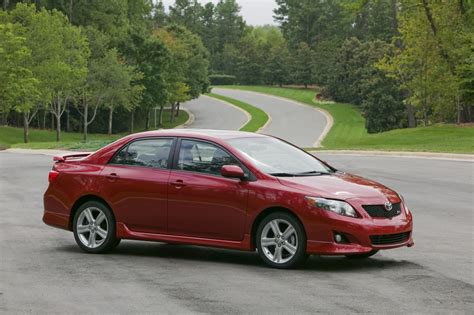 2010 Toyota Corolla S Review 2010 Toyota Corolla Review Ratings Specs Prices And