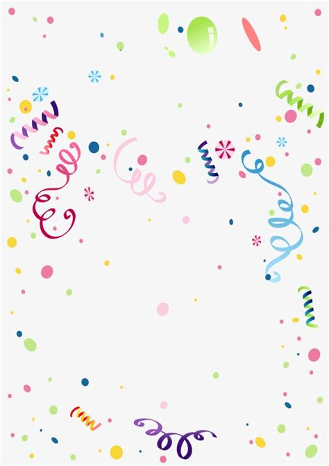 Celebration Background Colored Ribbon Carnival Png And