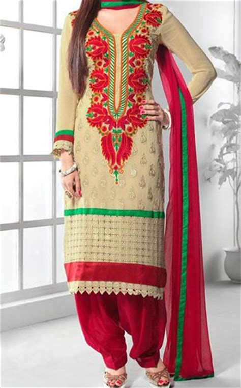 punjabi grls suit long hair punjabi salwar kameez suits 2015 for girls in india neck