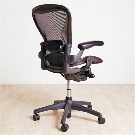 Computer Chair Adjustable Arms by Herman Miller Aeron Size B Adjustable Arms Mesh