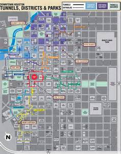 downtown houston map houston downtown maps city of