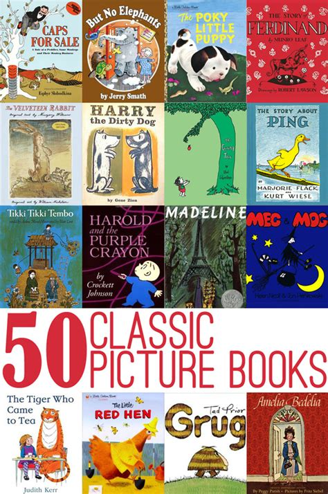 read picture books 50 classic picture books to read with childhood101